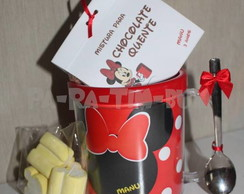Caneca personalizada+Kit chocolate quent