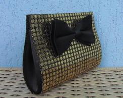 Clutch Black Tie