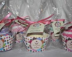 Cupcake toalha com Wrapper personalizado