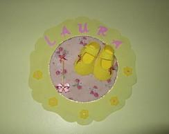 Enfeite Porta Maternidade Sapatinho