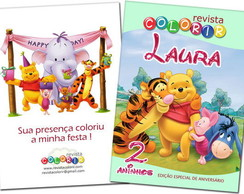 Revista Colorir Pooh