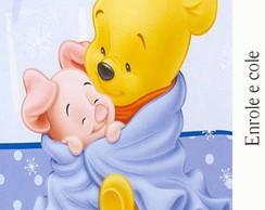 R�tulo para Bisnaga Baby Pooh