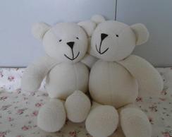 Ursos confeccionados em uniflock