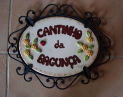 CANTINHO DA BAGUN�A COM FERRAGEM