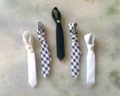 Lembrancinhas: Gravatinhas do Noivo.