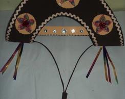 Chap�u de cangaceiro em E.V.A. Feminino
