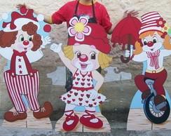 Mesa Tem�tica Circo Menina MDF