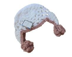 Touca de croch� 9 a 12 meses
