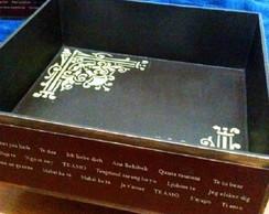 Caixa de MDF personalizada