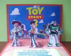 Convite Pop-up Toy Story