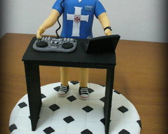 Topo de bolo - Dj