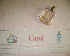 Toalha de Rosto - Perfumes