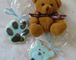 Biscoitos decorados - Ursos