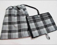 mochila toalha e toalha de m�o c/ziper