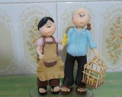 Topo de bolo bodas de 50 anos