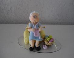 Topo de bolo de 80 anos