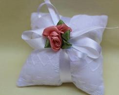 sach� almofada simples com rosa