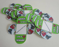 Forminha Doces Angry Birds