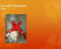 Cora��o Chocolate Mesclado 400gr