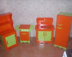 M�veis em MDF para cozinha infantil