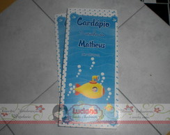 CARD�PIO SLIN FUNDO DO MAR