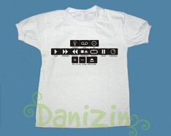 T-Shirt Beb� e Infantil PLAY