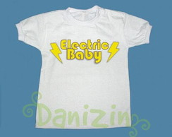T-Shirt Beb� e Infantil ELECTRIC BABY