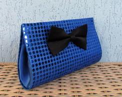 Clutch Paet� Azul Royal