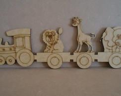 Trenzinho com animais
