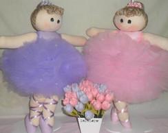 Bonecas de Pano Bailarinas