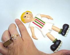 Boneco Jogador em Biscuit