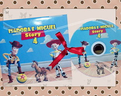 DVD Personalizado Toy Story
