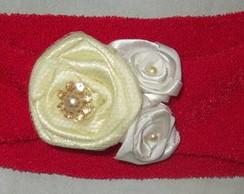 Faixa roses and pearls