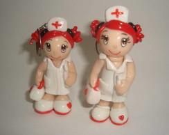 Lembrancinha de Enfermagem 8cm