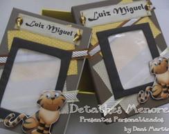 �lbum de Fotos + Caixa Decorada - Tigre