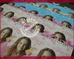 Caderninho Personalizado Cinderela