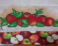 Ecobag e pano de copa frutas
