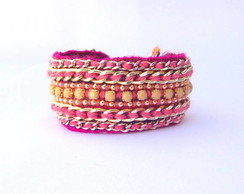 Friendship Bracelet Cr�me Ros�