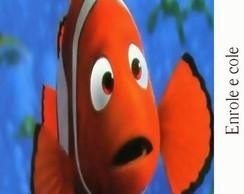 R�tulo para Bisnaga Procurando Nemo