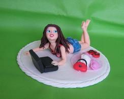 Topo de bolo para 15 anos