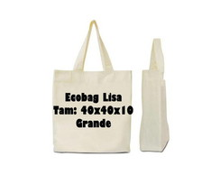Ecobag Lisa *Com Abert. Lateral*40x40x10