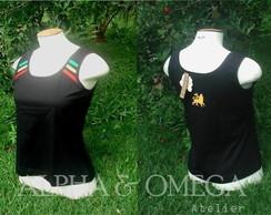 Camiseta Regata Reggae Classic PRETA
