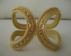 Pulseira Luxo Metal Dourada