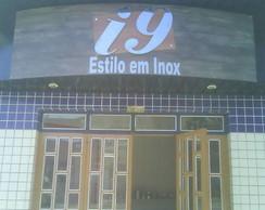 Letreiro em A�o Inox p/ fachada de loja