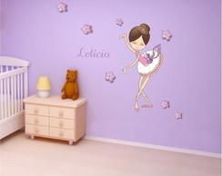 Adesivo Bailarina 012