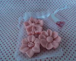Mini Sabonete Flores
