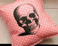 Capa para almofada Cranio