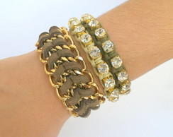MIX DE PULSEIRAS WINTER FASHION