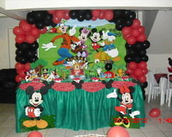 Decora��o do tema Mickey- LOCA��O