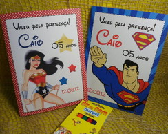 Caderninho colorir - Superman